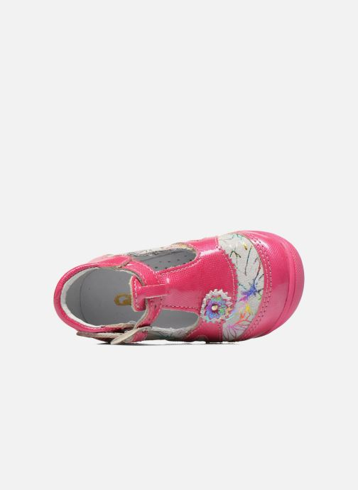 Stiefeletten & Boots GBB Milla rosa ansicht von links