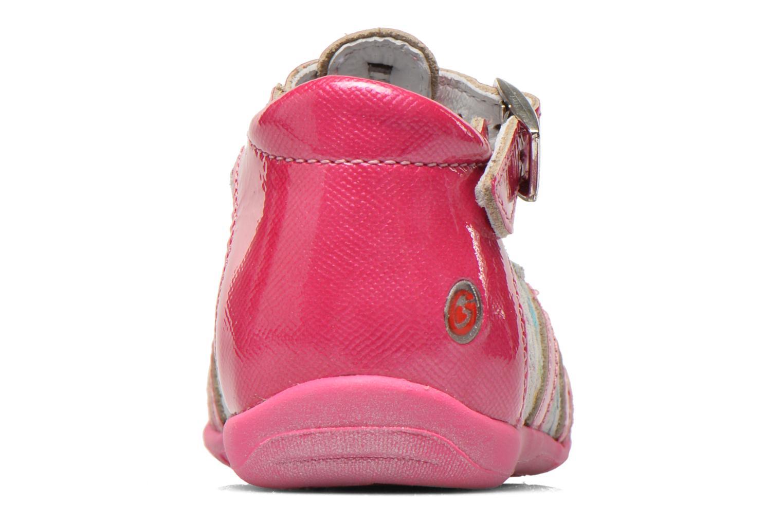 Bottines et boots GBB Milla Rose vue droite