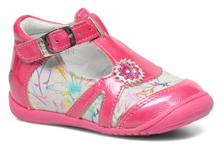 Bottines et boots GBB Milla Rose vue détail/paire