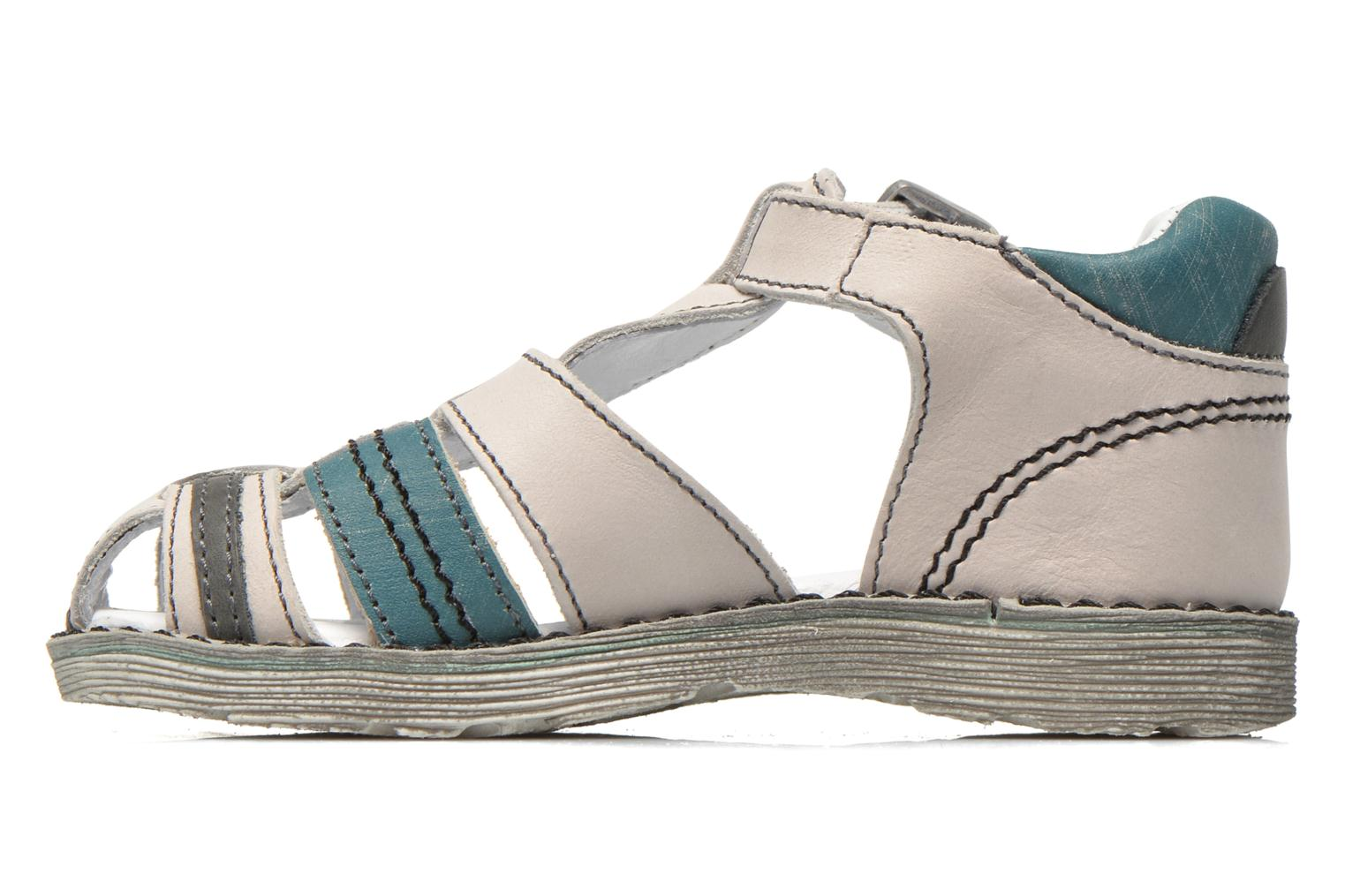 Sandals GBB Max Grey front view