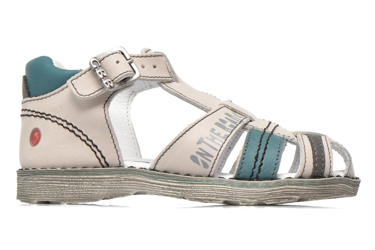 Sandals GBB Max Grey back view