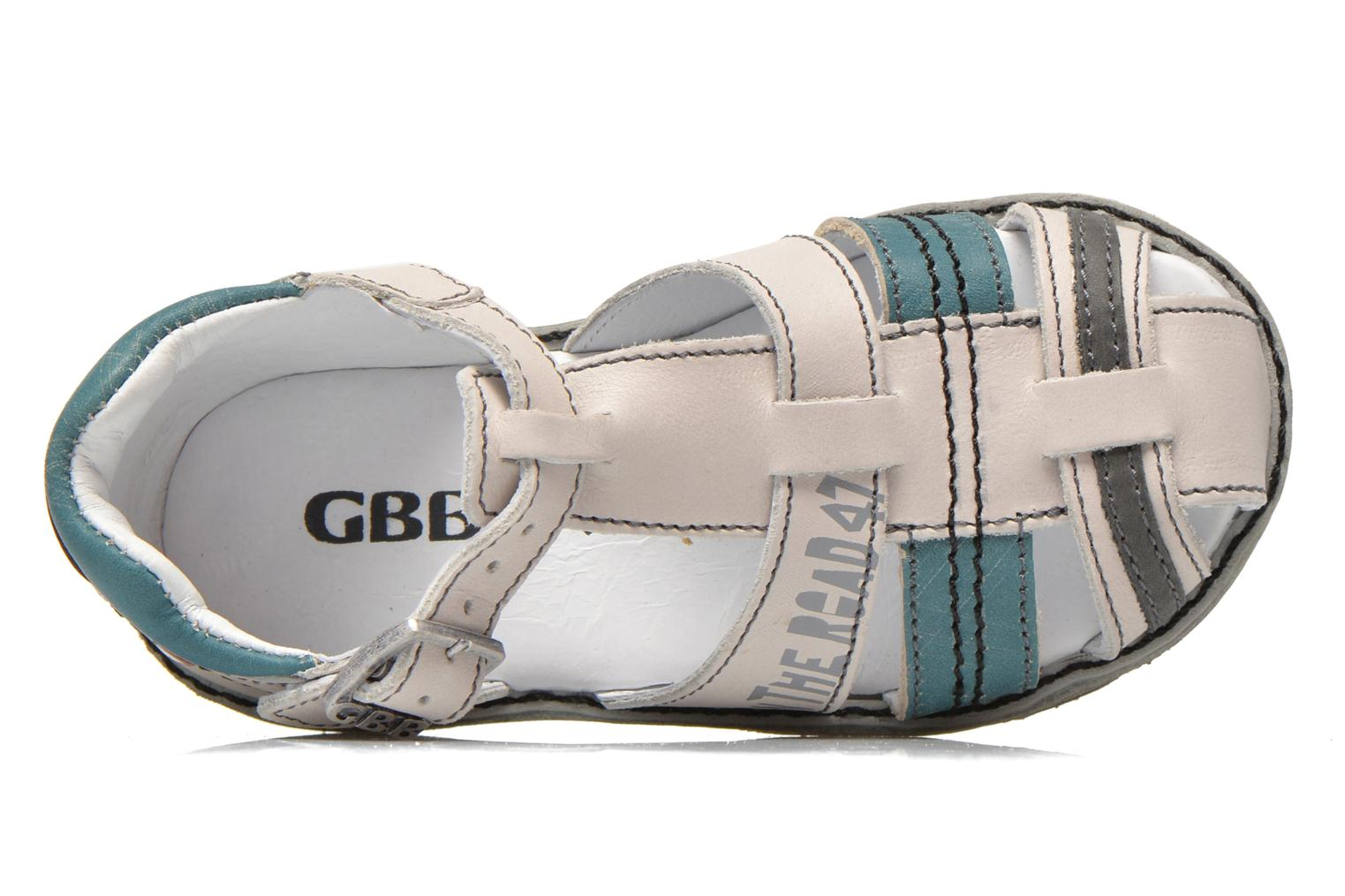 Sandals GBB Max Grey view from the left