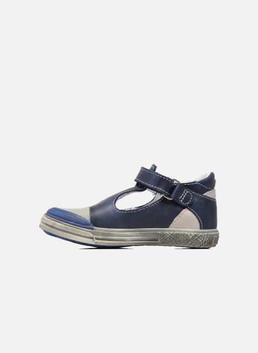 Chaussures à scratch GBB Mika Bleu vue face