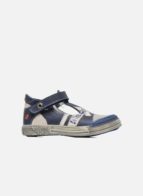 Velcro shoes GBB Mika Blue back view