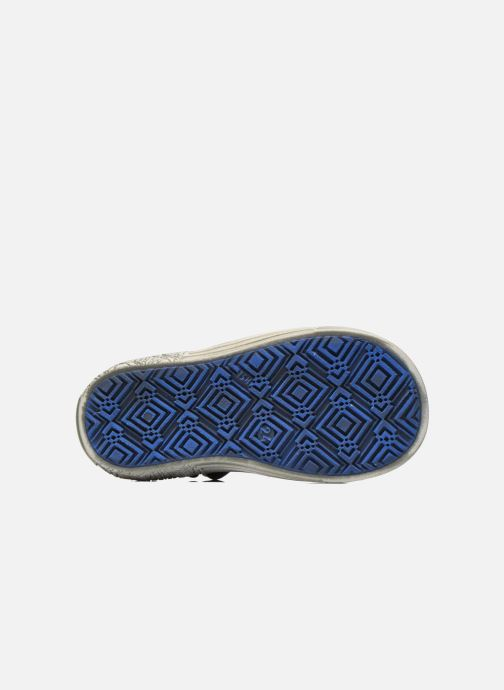 Velcro shoes GBB Mika Blue view from above
