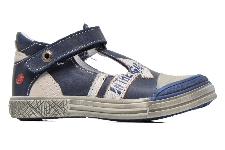 Zapatos con velcro GBB Mika Azul vistra trasera