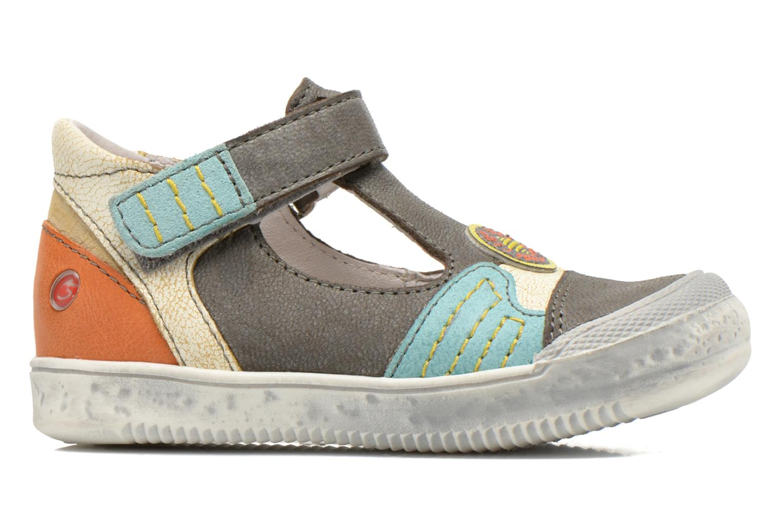 Chaussures à scratch GBB Mao Gris vue derrière