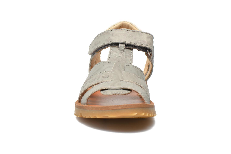 Sandales et nu-pieds GBB Martial Gris vue portées chaussures