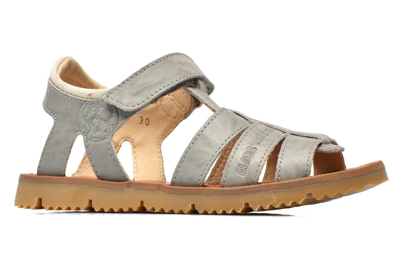 Sandales et nu-pieds GBB Martial Gris vue derrière