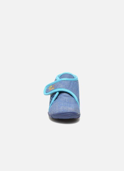 Chaussons GBB Maverick Bleu vue portées chaussures