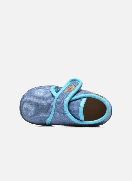 Pantoffels GBB Maverick Blauw links