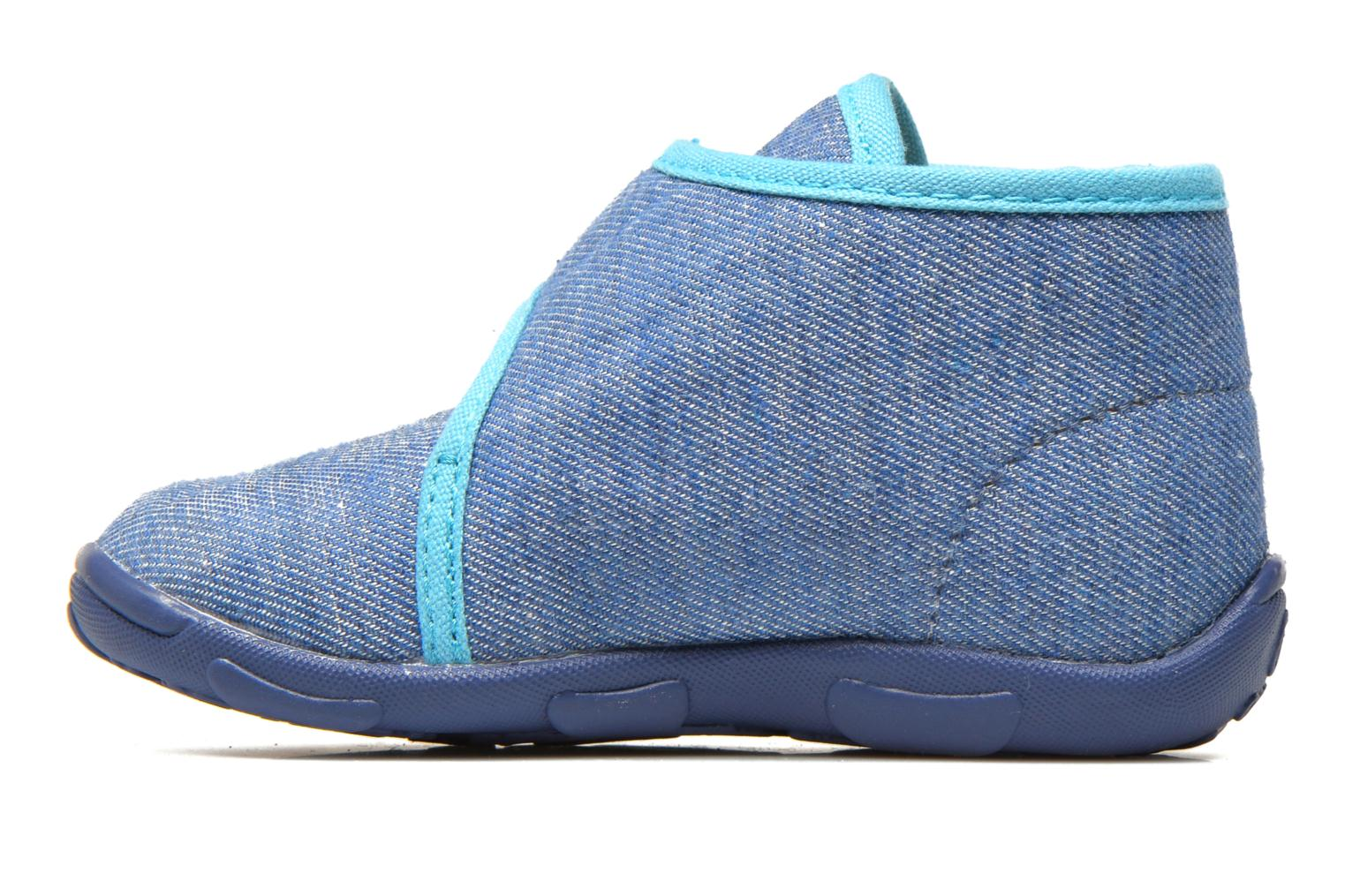 Slippers GBB Maverick Blue front view