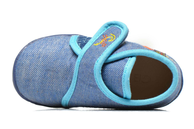 Chaussons GBB Maverick Bleu vue gauche
