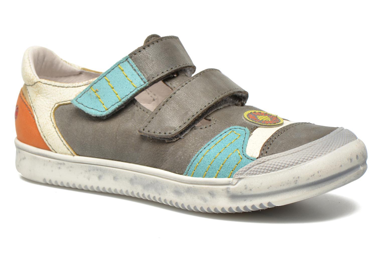 Sneakers GBB Marcelin Grijs detail
