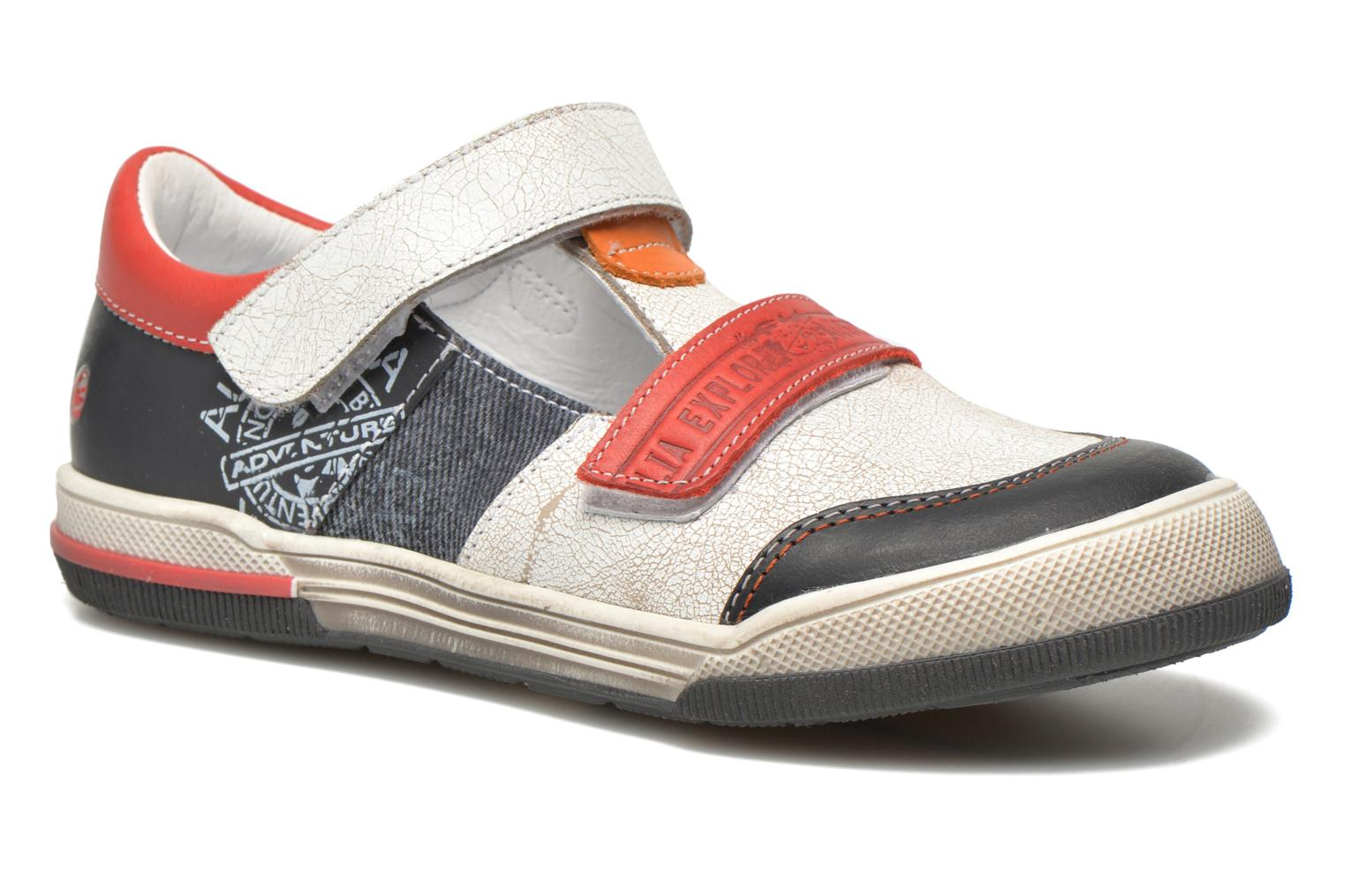 Velcro shoes GBB Medine Multicolor detailed view/ Pair view