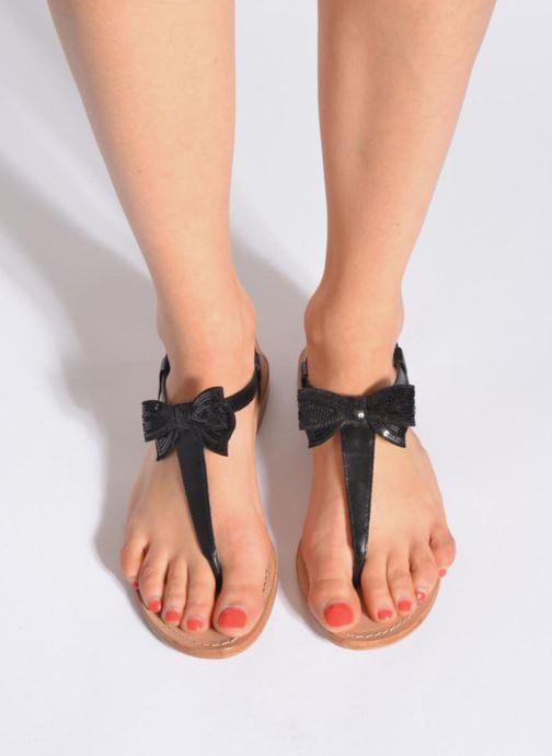 Sandales et nu-pieds Mellow Yellow Ballydolly Noir vue bas / vue portée sac