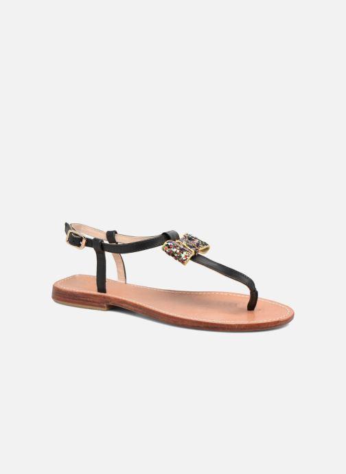 Sandales et nu-pieds Mellow Yellow Ballydolly Noir vue détail/paire