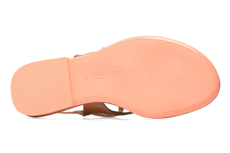 Sandales et nu-pieds Mellow Yellow Vaness Orange vue haut