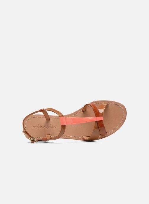 Sandales et nu-pieds Mellow Yellow Valentine Marron vue gauche