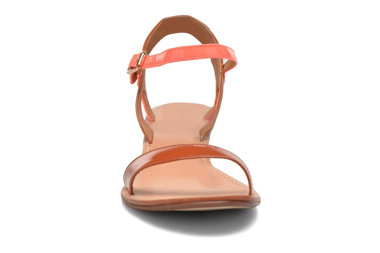 Sandales et nu-pieds Mellow Yellow Valentin Orange vue portées chaussures