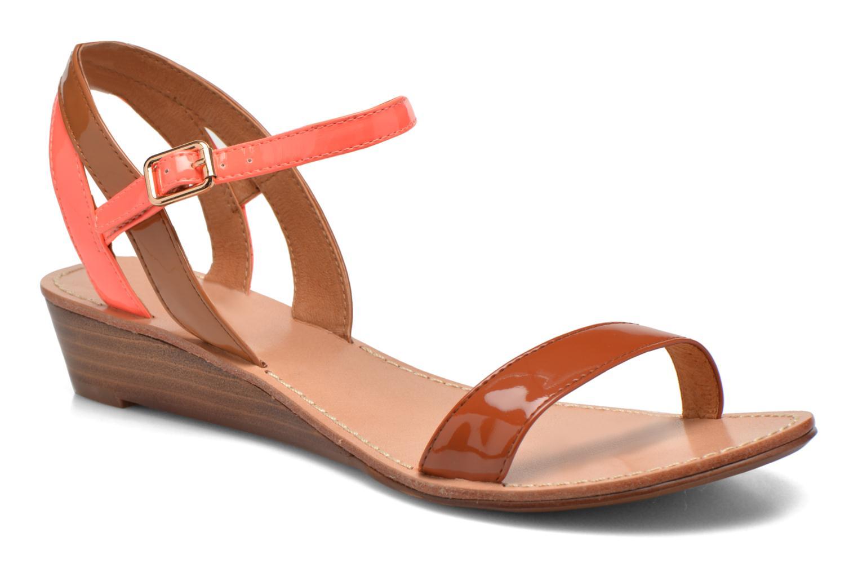 Sandales et nu-pieds Mellow Yellow Valentin Orange vue détail/paire