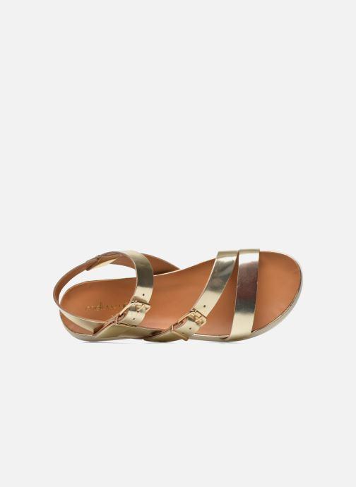 Sandali e scarpe aperte Mellow Yellow Vindia Oro e bronzo immagine sinistra