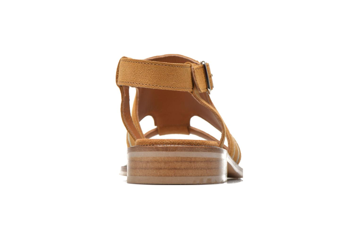 Sandals Mellow Yellow Vilma Beige view from the right