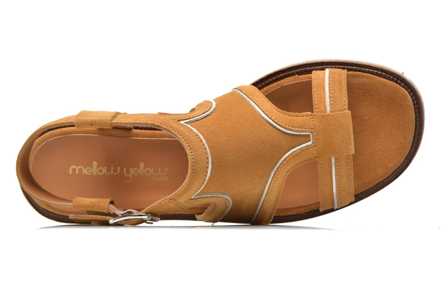 Sandals Mellow Yellow Vilma Beige view from the left
