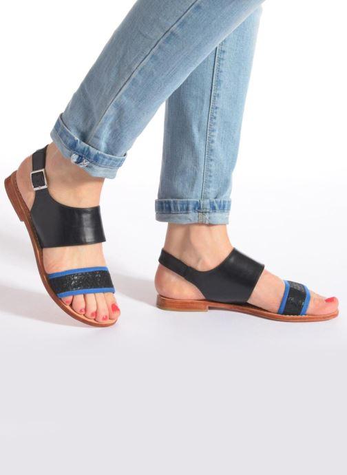 Nu Sandales Et Mellow Black pieds Vadeli Yellow PkiuOXZ