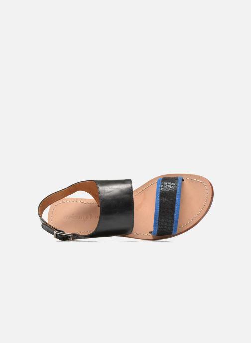 Sandali e scarpe aperte Mellow Yellow Vadeli Nero immagine sinistra