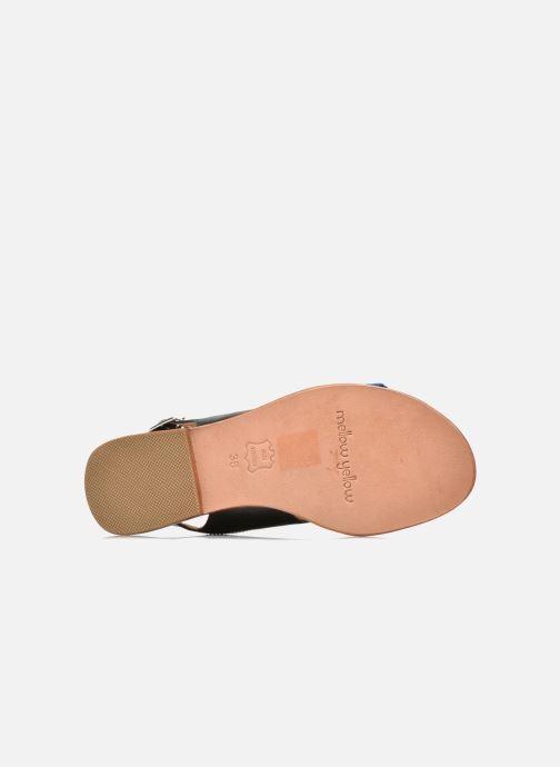 Sandali e scarpe aperte Mellow Yellow Vadeli Nero immagine dall'alto