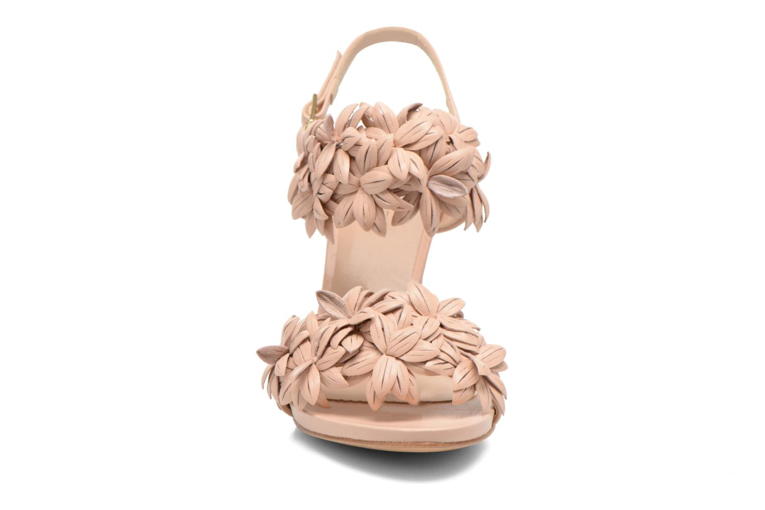 Sandals COSMOPARIS Malali Beige model view