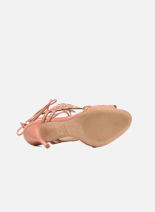 Sandales et nu-pieds COSMOPARIS Alanne Rose vue haut