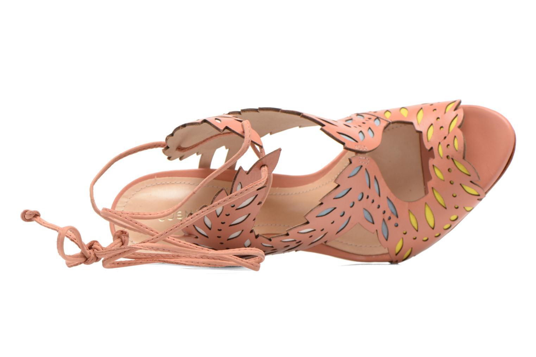 Sandales et nu-pieds COSMOPARIS Alanne Rose vue gauche