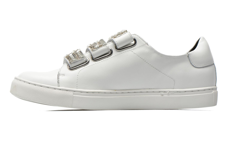 Sneakers COSMOPARIS Emi Hvid se forfra