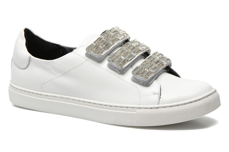 Sneakers COSMOPARIS Emi Hvid detaljeret billede af skoene