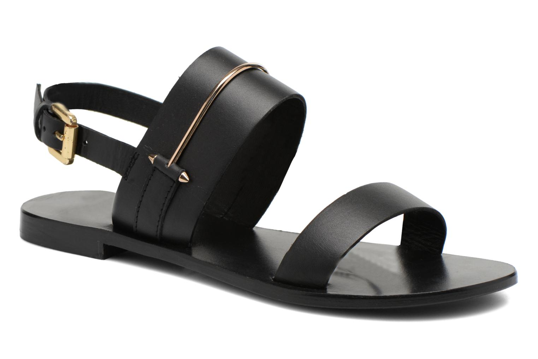 Sandales et nu-pieds COSMOPARIS Kadoa Noir vue détail/paire