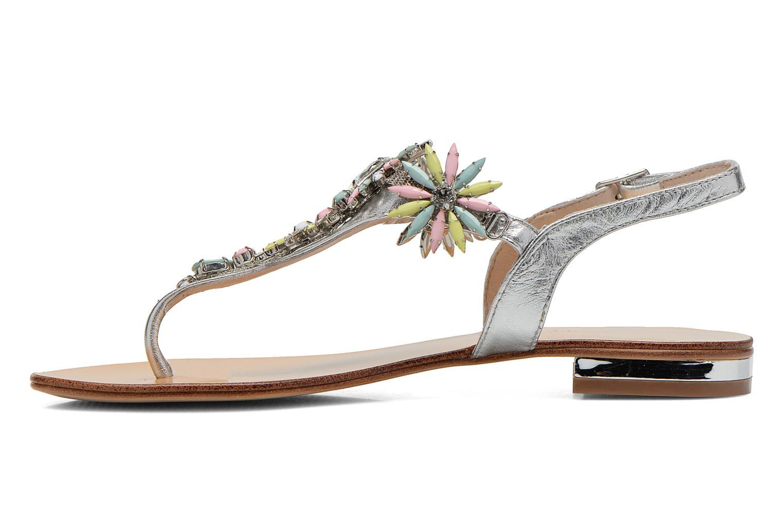 Sandales et nu-pieds COSMOPARIS Hirly/Met Argent vue face