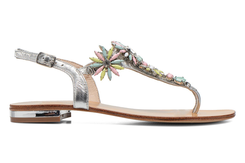 Sandales et nu-pieds COSMOPARIS Hirly/Met Argent vue derrière