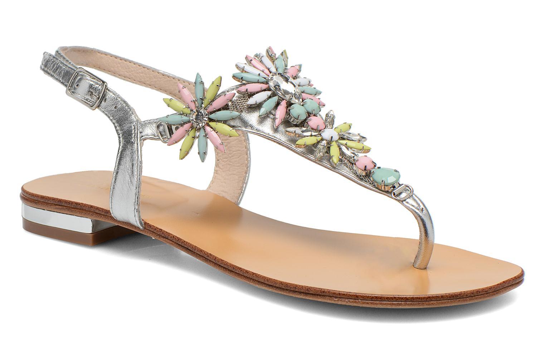 Sandales et nu-pieds COSMOPARIS Hirly/Met Argent vue détail/paire