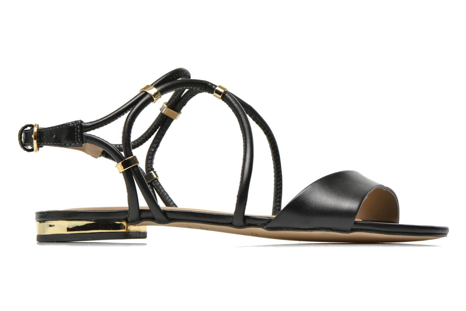 Sandals COSMOPARIS Clira Black back view