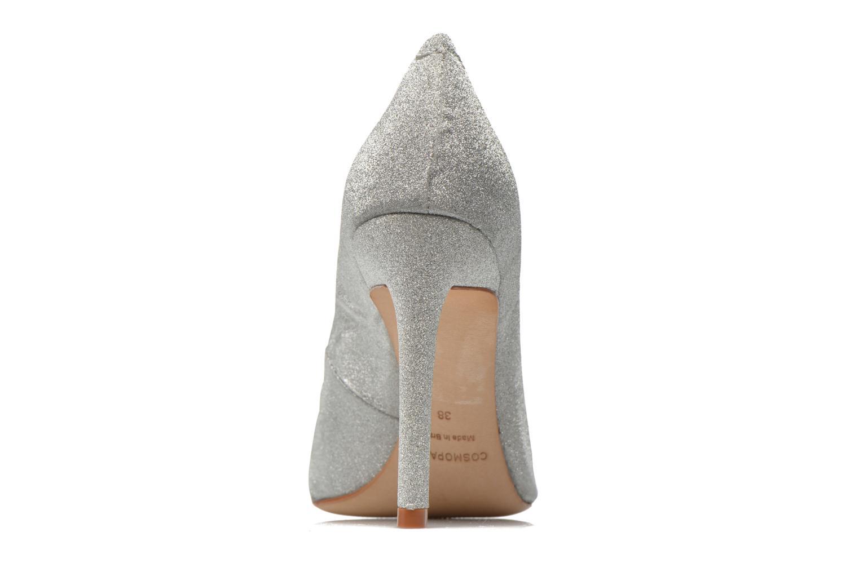 Zapatos de tacón COSMOPARIS Adora Plateado vista lateral derecha