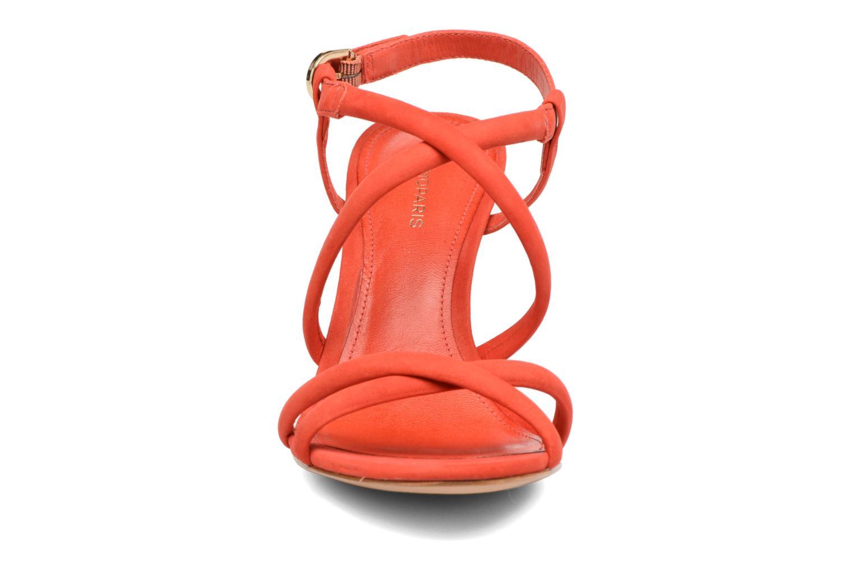 Sandales et nu-pieds COSMOPARIS Adalina/vel Rouge vue portées chaussures