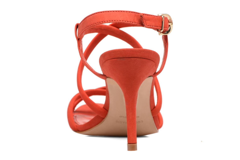 Sandales et nu-pieds COSMOPARIS Adalina/vel Rouge vue droite