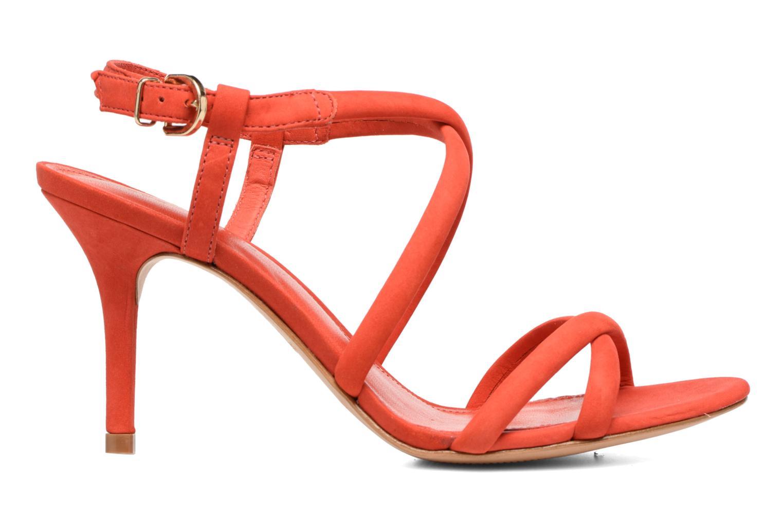 Sandales et nu-pieds COSMOPARIS Adalina/vel Rouge vue derrière