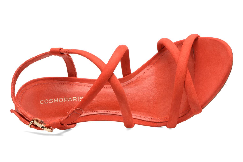 Sandales et nu-pieds COSMOPARIS Adalina/vel Rouge vue gauche