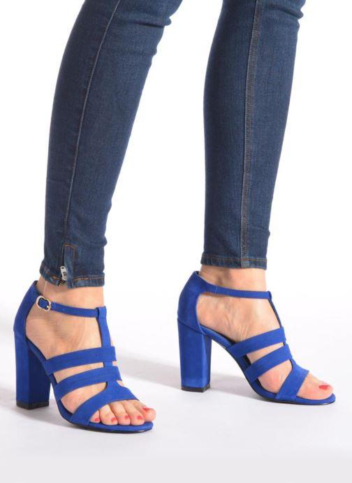Sandali e scarpe aperte COSMOPARIS Simia/nub Azzurro immagine dal basso