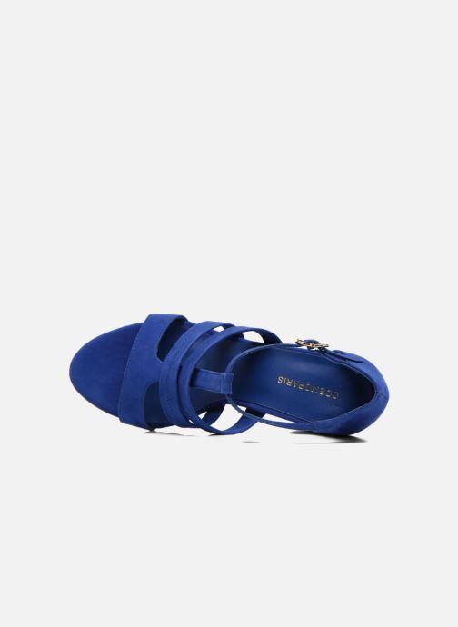 Sandali e scarpe aperte COSMOPARIS Simia/nub Azzurro immagine sinistra