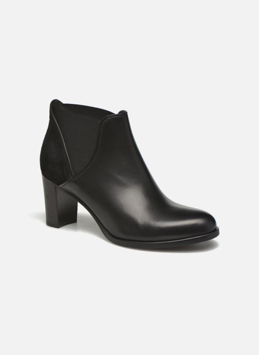 Bottines et boots COSMOPARIS Bamia/bi Noir vue détail/paire