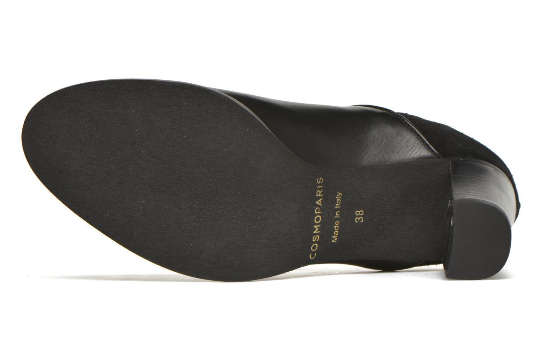 Bottines et boots COSMOPARIS Bamia/bi Noir vue haut